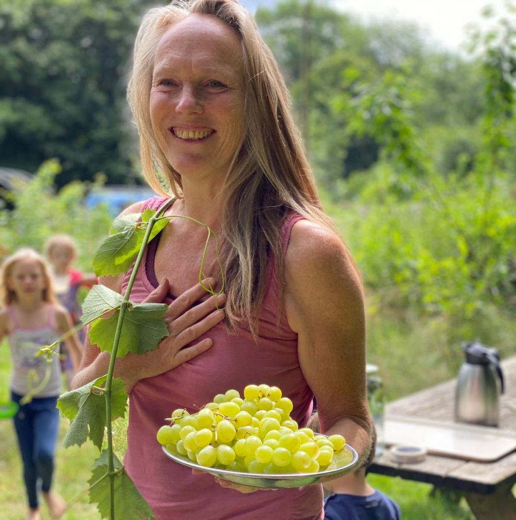 tuinvrouw Anke is gelauwerd